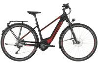 Bergamont E-Horizon Elite Lady - black/red (matt) - 56 cm - Zweirad Homann