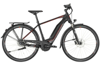 Bergamont E-Horizon N8 FH 500 Gent - black/dark silver/red (matt) - 52 cm - Zweirad Homann