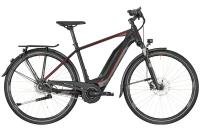 Bergamont E-Horizon N8 CB 400 Gent - black/dark silver/red (matt) - 48 cm - Zweirad Homann