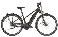 Bergamont E-Horizon N8 CB 400 Lady - black/dark silver/red (matt) - 44 cm - Zweirad Homann