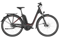 Bergamont E-Horizon N8 CB 400 Wave - black/dark silver/red (matt) - 44 cm - Zweirad Homann
