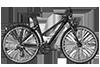 Bergamont BGM Bike Vitess 7.0 Lady - black/grey (matt) - 44 cm - Fahrrad Berlin mit Fahrrad Online Shop für Fahrräder - Radhaus » Fahrrad-Krause.de